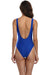 Plunge Neck Backless One Piece Swimsuit - Shekini Swimwear