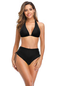 Two Piece Swimsuit Sexy Halter Triangle Set Bathing Suit - Shekini Swimwear
