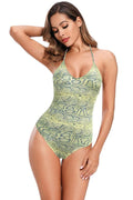 CRISS CROSS BACK ONE PIECE SWIMSUIT