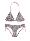 SHEKINI Girls Halter Bikini Print Two Piece Swimwear - Shekini Swimwear