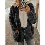 Load image into Gallery viewer, Keep Warm Knit Solid Color Cardigan - Shekini Swimwear