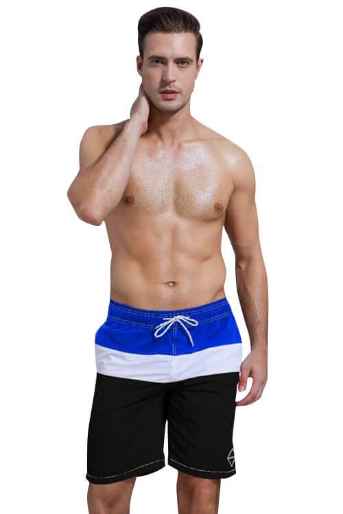 MEN'S COLORFUL SWIM TRUCKS BEACH SHORTS POCKETS WITH MESH LINING