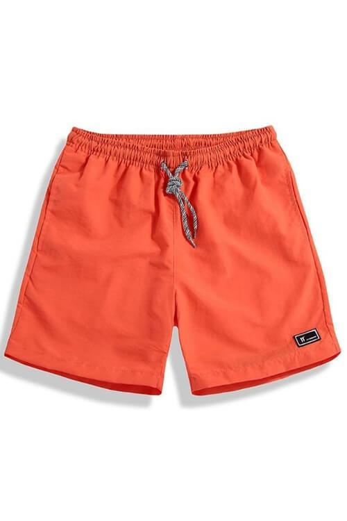 MEN'S SWIM TRUNKS QUICK DRY BEACH SHORTS POCKETS