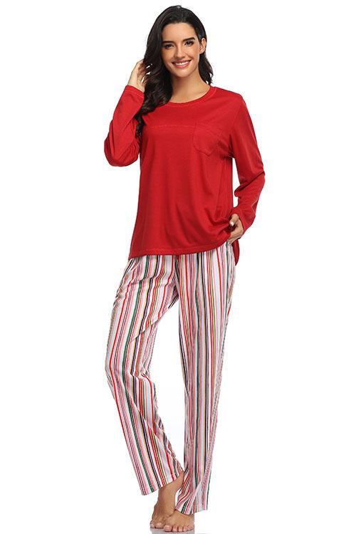 SHEKINI Print Pajamas for Women
