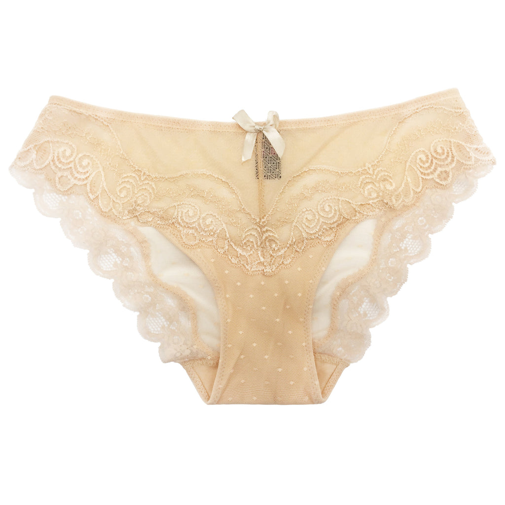 SKIN TONE LACE HIPSTER PANTY 1 PC
