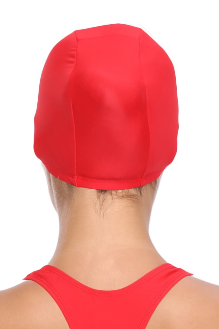 Sports Nylon Head Cover Swim Cap - Shekini Swimwear