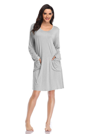 Women  Modal Sleepwear Chemises