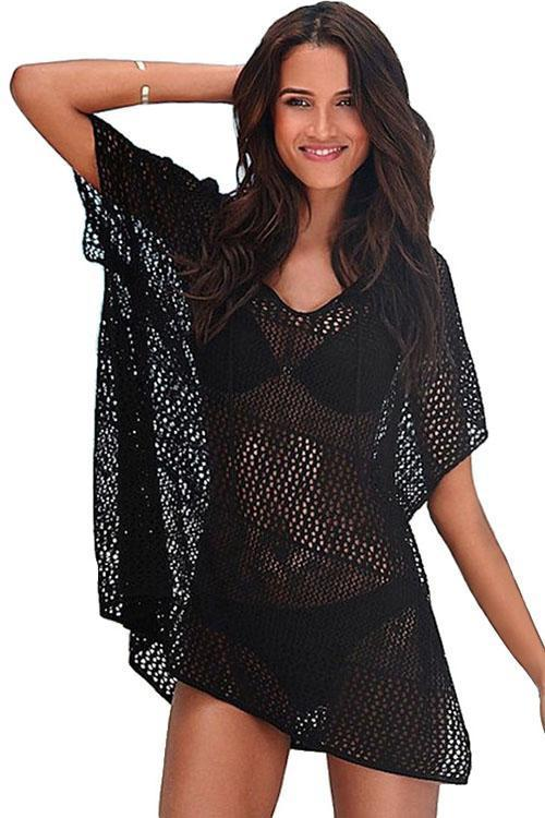 Women's Summer Beach Crochet Cover Up Dress - Shekini Swimwear