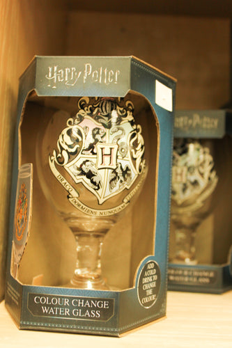Harry Potter Colour Changing Water Glass