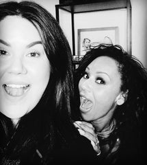Veronica with MelB and Jesy Nelson
