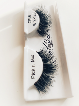 Tailored Strip Lashes Modelrock x Posh Pouts Full set