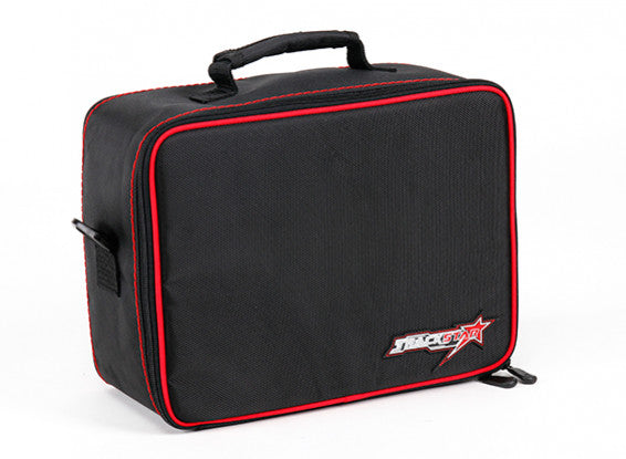 TrackStar Water Resistant Transmitter Bag for Sanwa MT-4 / FlySky GT5 , Noble