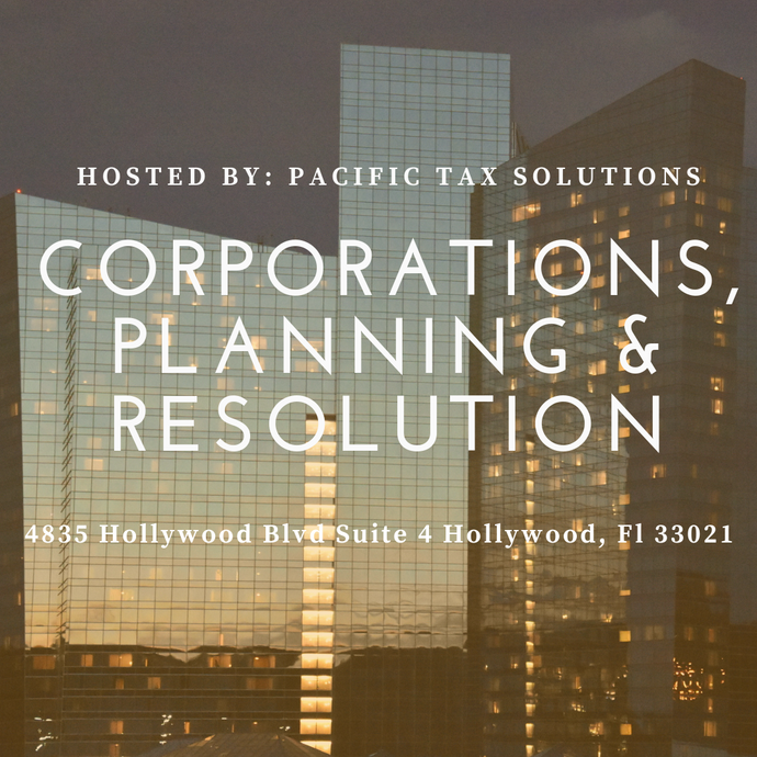 Corporations, Planning & Resolution - Miami