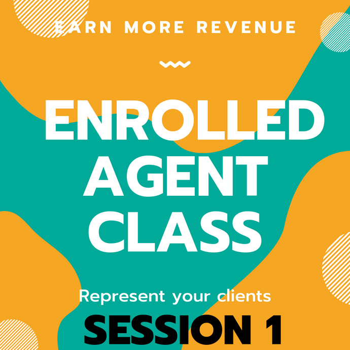 Enrolled Agent Class 1  - Miami