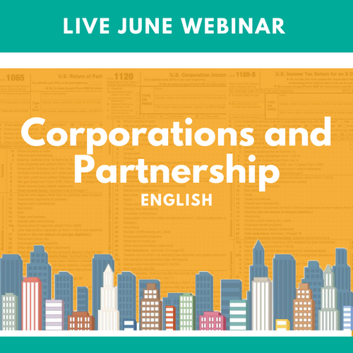 Live June Webinar Corp and Partnership English