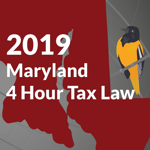 4 Hour Maryland Tax Law