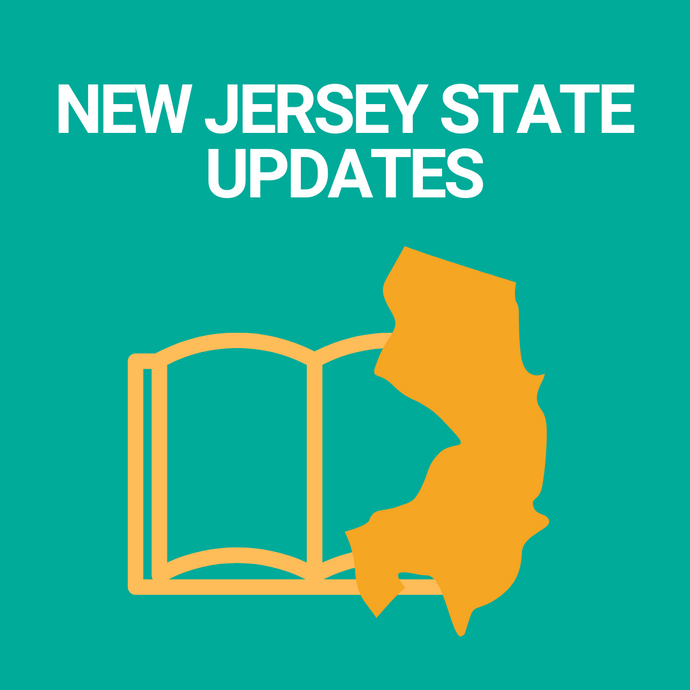 New Jersey state updates