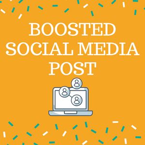 Boosted Social Media Post