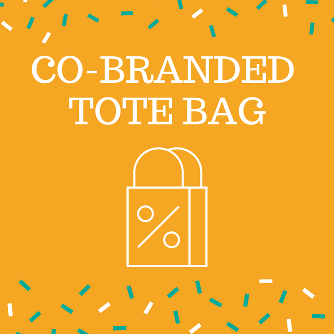 Co-branded Tote Bag