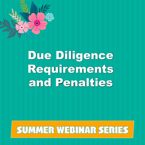 Due Diligence Requirements and Penalties