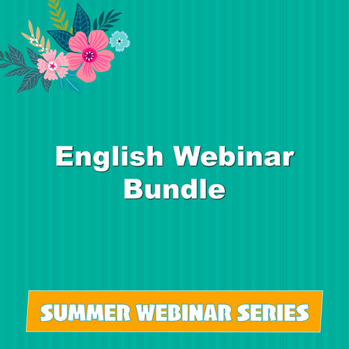English Summer Webinar Bundle