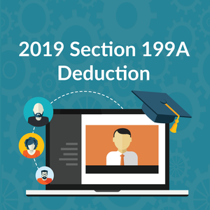 2018 Section 199A Deduction Webinar