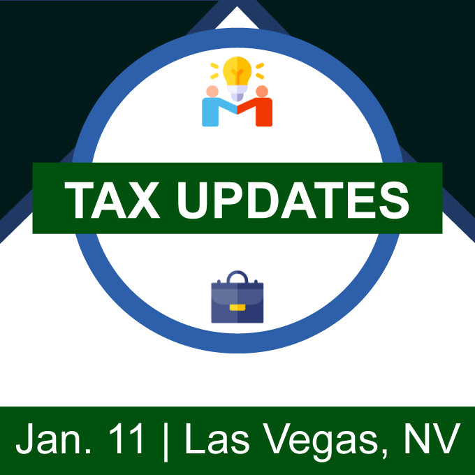 Tax Updates – Las Vegas, NV
