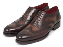 Load image into Gallery viewer, Paul Parkman Wingtip Oxfords Goodyear Welted Brown (ID#027-BRW)