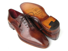 Load image into Gallery viewer, Paul Parkman Men's Plain Toe Brown Calfskin Oxfords (ID#019)