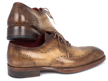 Load image into Gallery viewer, Paul Parkman Goodyear Welted Men's Wingtip Oxfords Antique Olive (ID#87OLV54)