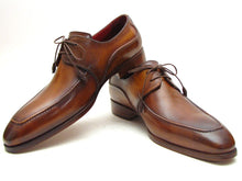 Load image into Gallery viewer, Paul Parkman Men's Brown Derby Dress Shoes For Men (ID#SU12LF)