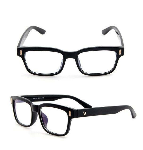 Scratch Proof Crystal Clear Gaming Glasses With 100% UV Protection