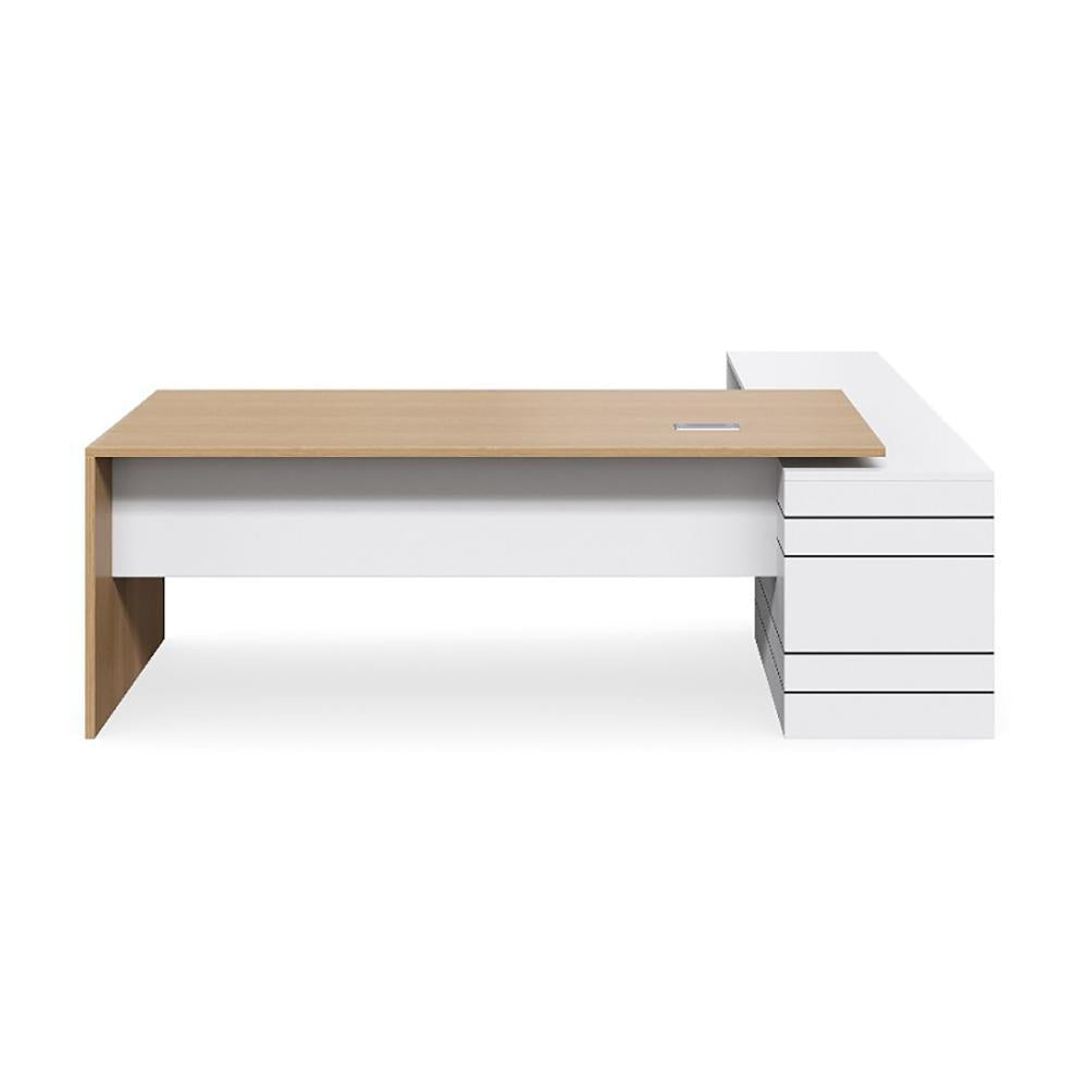 Geo Executive Slab End Premium Desk