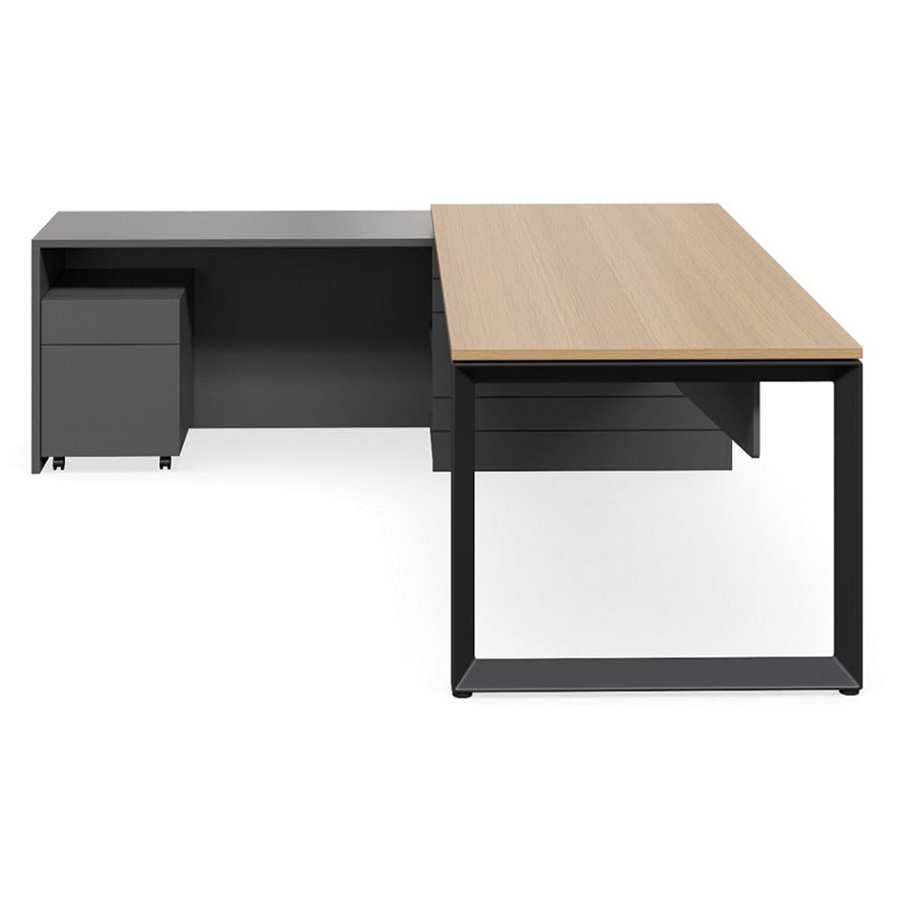 Geo Forum Black Base Premium Executive Desk