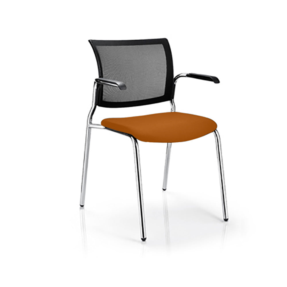 M100 Mesh Back Breakout Chair with Arms