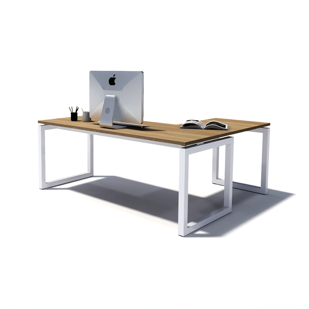 Gen O L-Shaped Executive Desk