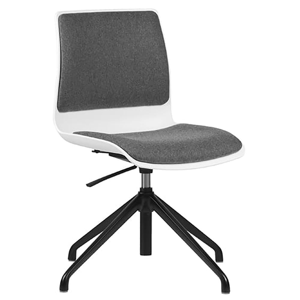 Pod Adjustable Height Upholster Visitor Chair