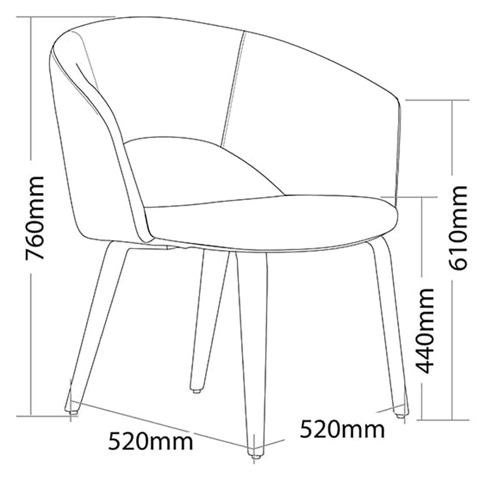 Time 4 Leg Visitor Chair