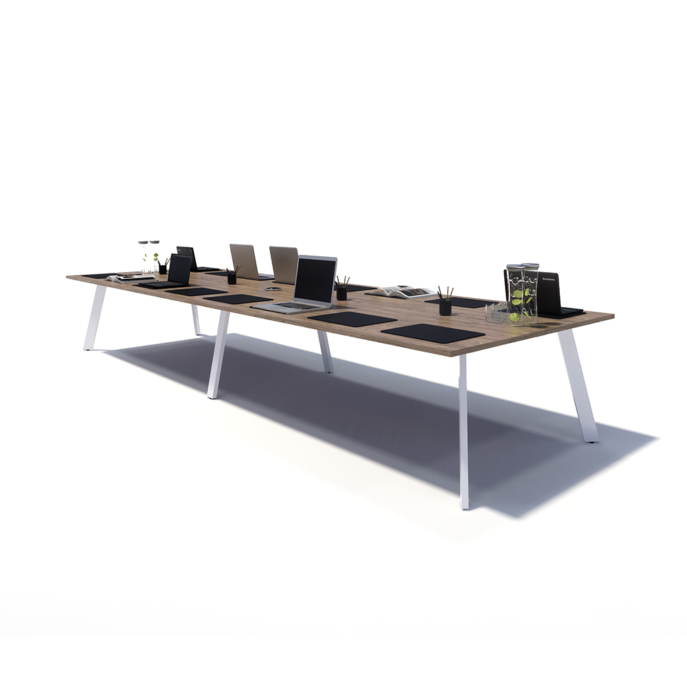 Gen X Meeting Table Splayed Legs