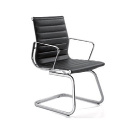 Aero Cantilever Leather Chair