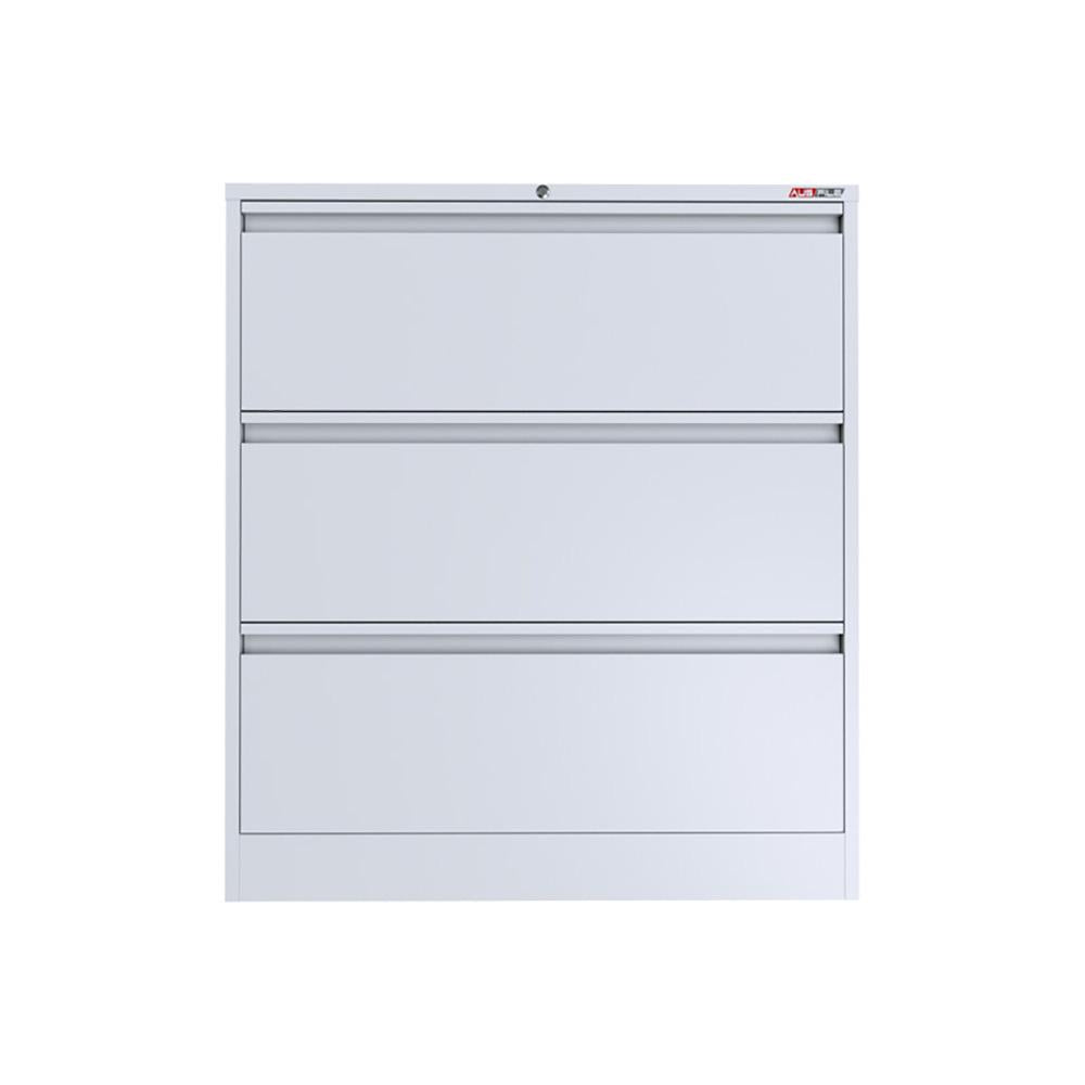 Ausfile 3 Drawer 2.51 LM Lateral Filing Cabinet