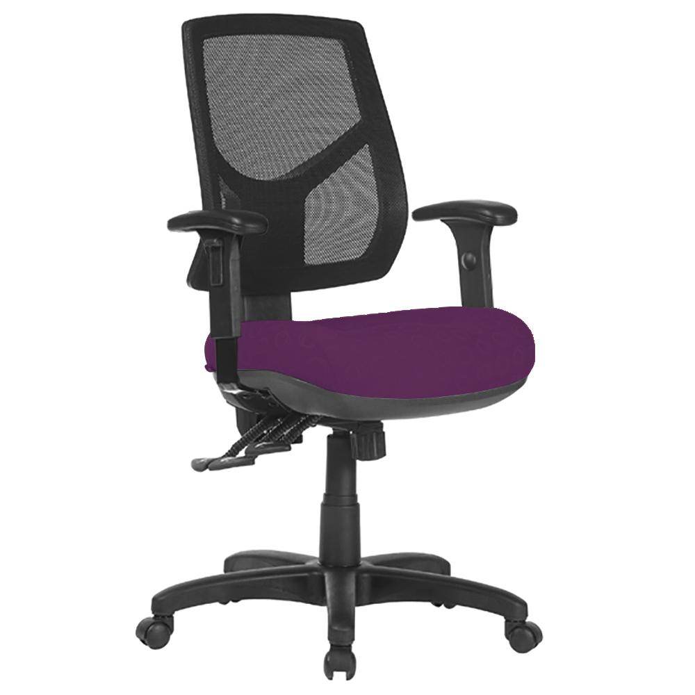Chelsea Mesh High Back Office Chair with Arms
