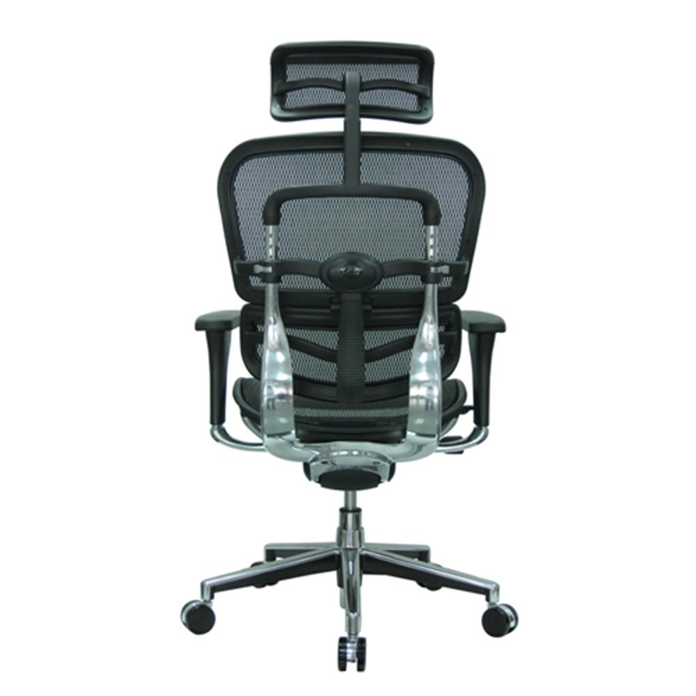 E-Human Mesh Chair with Headrest