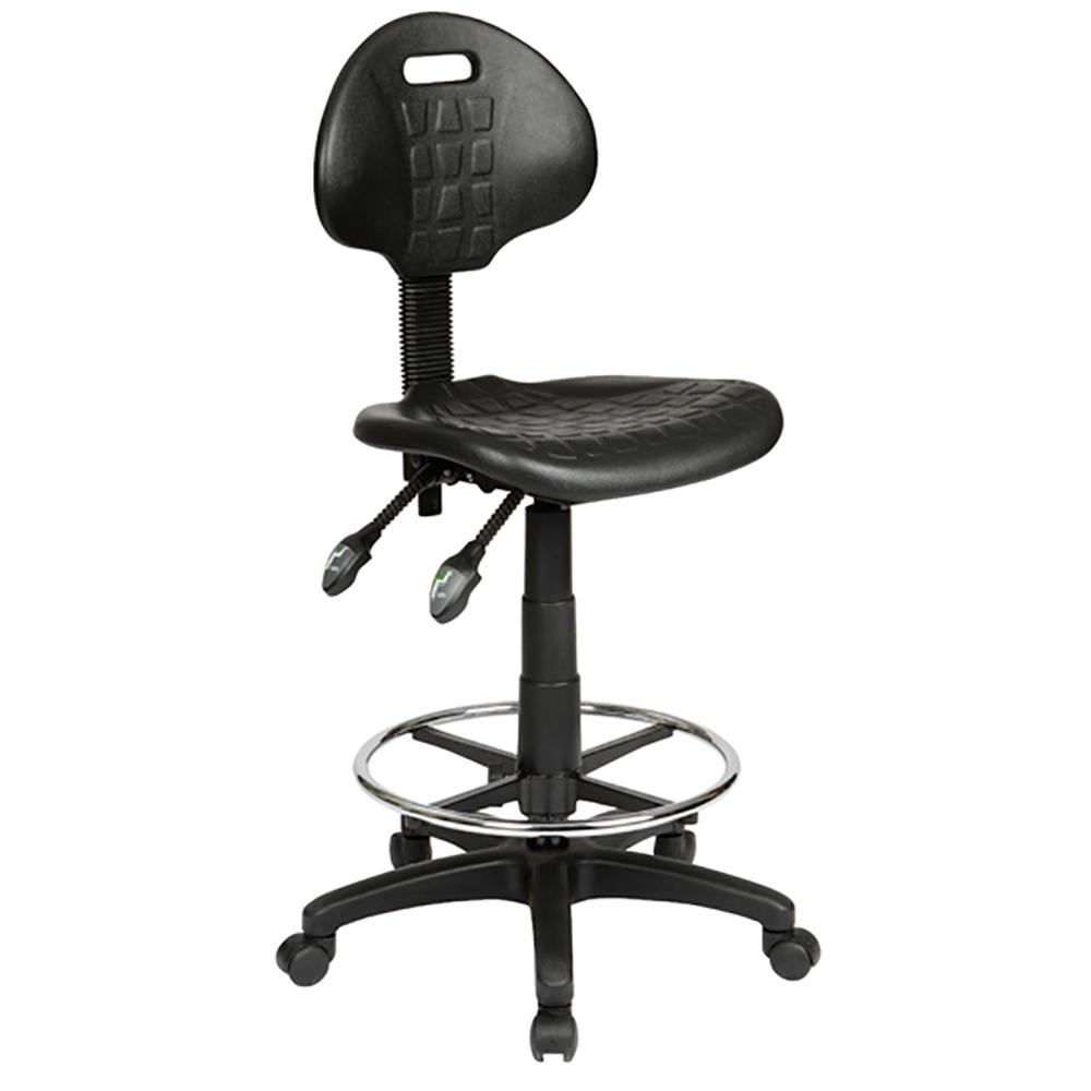 Industrial Height Ergonomic Drafting Stool