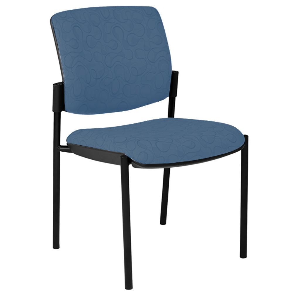 Maxi 4 Leg Black Frame Visitor Chair