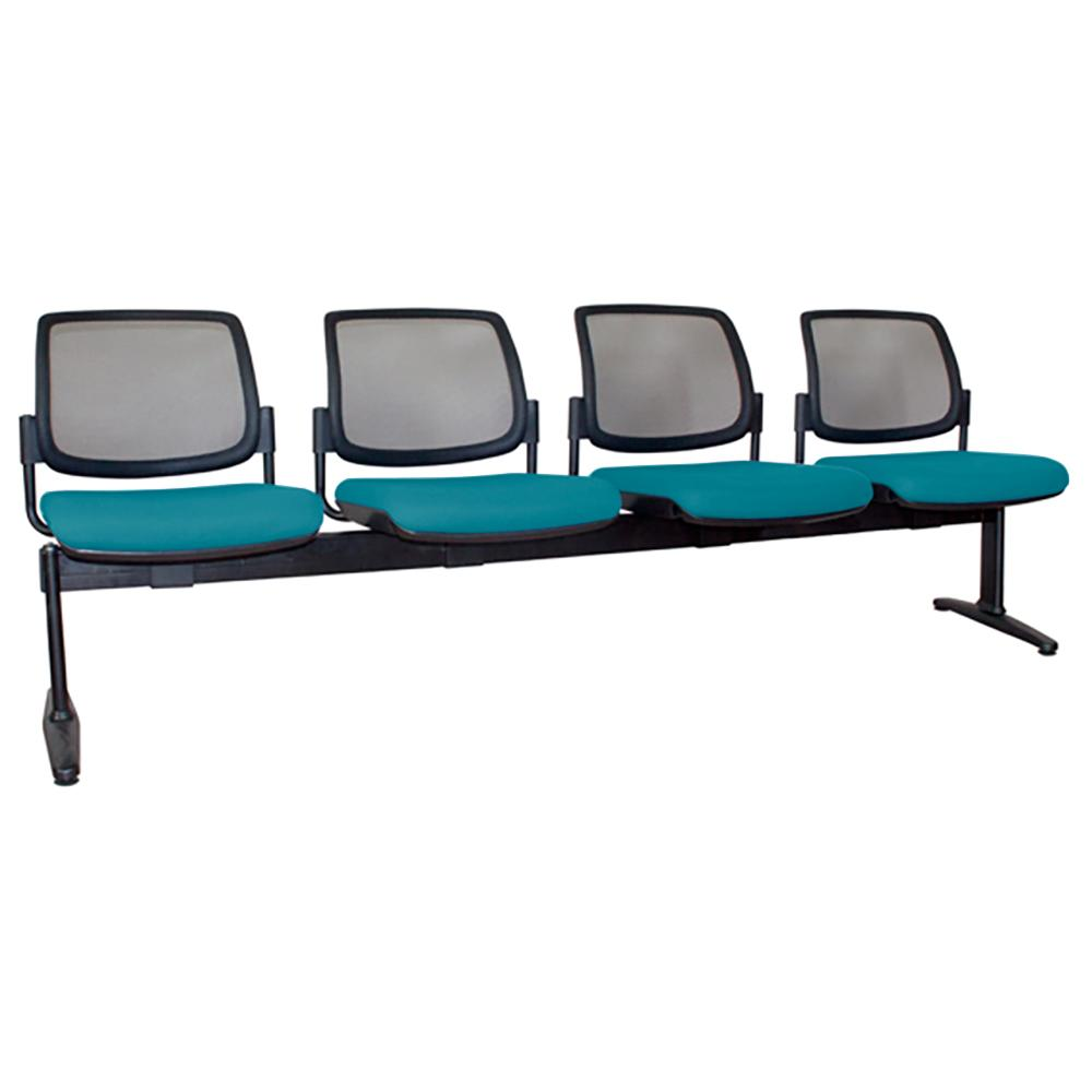 Maxi Mesh Back Four Seater Beam Chair
