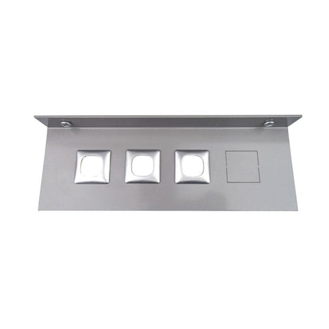 Underdesk Metal Mounting Plate (Angled)