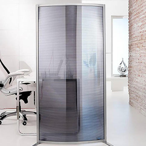 Modular Curved Room Divider Wave Screen