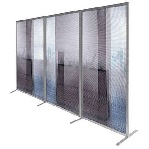 Modular Straight Room Divider Screen Straight