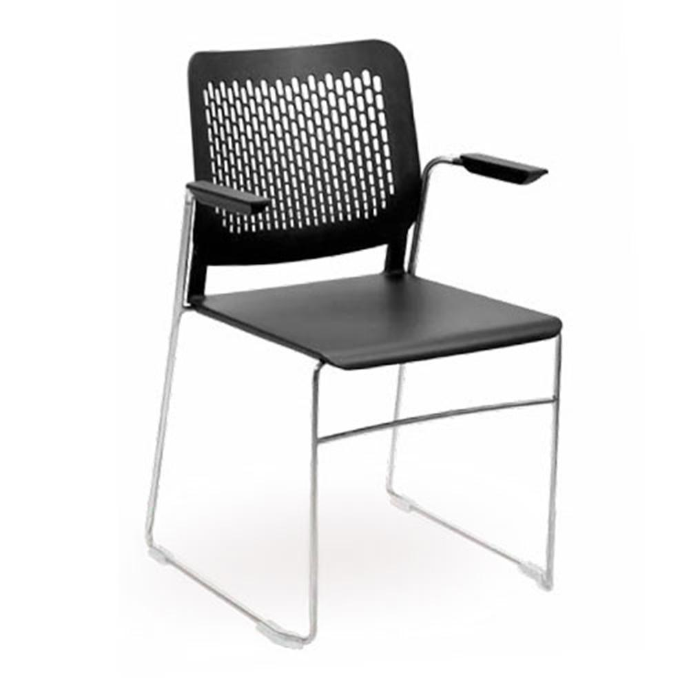 Morika Premium Visitor Chair with Arms